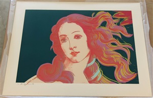 birth of venus fs#316 by andy warhol