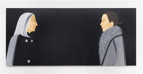 alex katz black paintings by alex katz