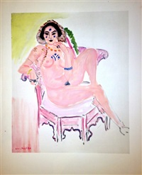 l'odalisque assise by henri matisse