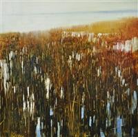 spring low tide by david allen dunlop