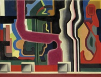 composition, abstraction by auguste herbin