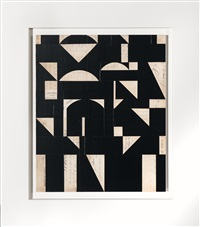 invisible cities xxi (black) by robert kelly