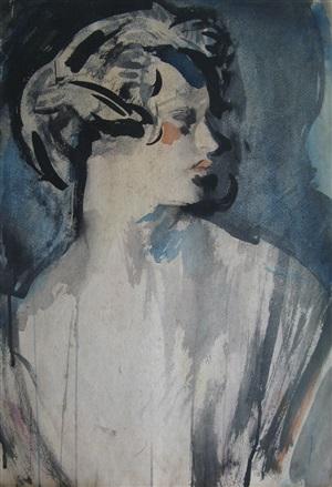 study of lois sturt by ambrose mcevoy