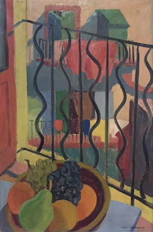 still life with window by ian macnab