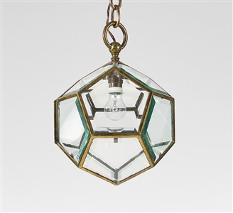hanging lamp by adolf loos