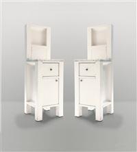 two bedside tables by koloman (kolo) moser