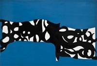 bianco nero su turchese by carla accardi