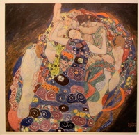 the virgin by gustav klimt
