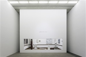 lenin in 1918 (installation view at galerie urs meile beijing) by yan xing
