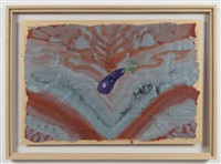 untitled (eggplant) by paul thek