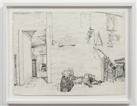 untitled (studio interior) by paul thek