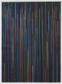 staggered lines: lamp black by ian davenport