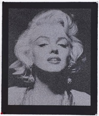 marilyn monroe portrait by russell young