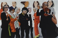 "art fair series : ""the cat's meow"" by eric fischl"