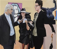 art fair: booth #17 instructions by eric fischl