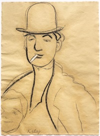jules pascin by ronald brooks kitaj