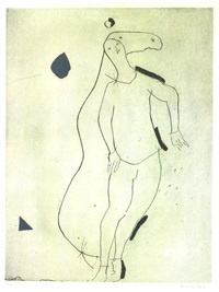 la sorpresa i, from personaggi, plate iii by marino marini