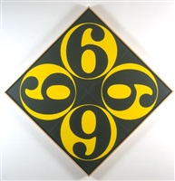 the four sixes by robert indiana