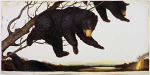 scipio and the bear by walton ford