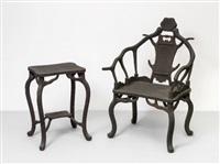 impacted chairs by zheng guogu