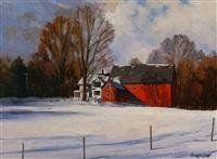 winter deep by harley w. bartlett