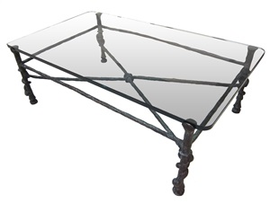 """torsade"" table by diego giacometti"