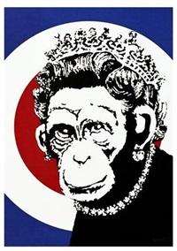 monkey queen by banksy