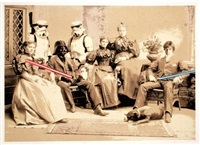 star wars family portrait by mr. brainwash