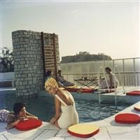 penthouse pool by slim aarons