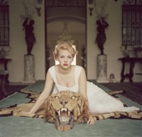 beauty and the beast by slim aarons