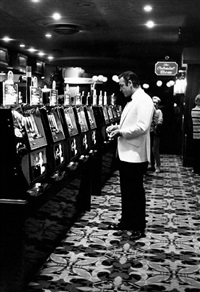 sean connery, slot machines by terry o'neill