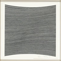 untitled (from la lune en rodage) by bridget riley