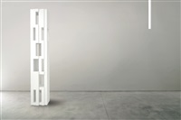 'primitive' - bookcase vertical by studio nucleo