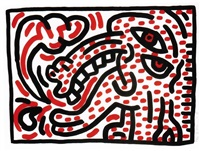 ludo 4 by keith haring