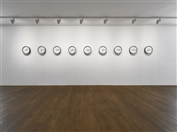 timepieces (solar system) by katie paterson
