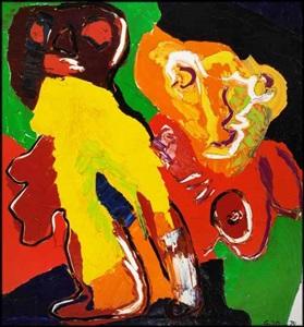 online auction of fine international art pop art prints by karel appel