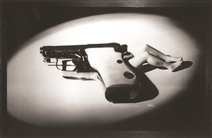 lying gun by laurie simmons