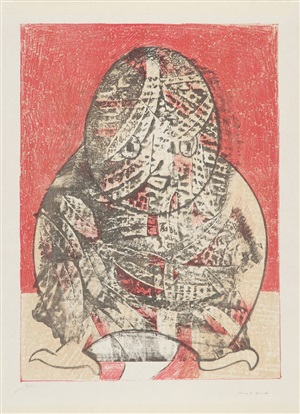 hibou (eule) by max ernst