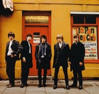 rolling stones at tin pan alley by terry o'neill