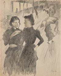 les midinettes by théophile alexandre steinlen