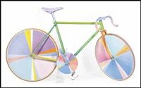 funny bicycle by greg curnoe