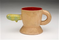 runny nose cup by ken price
