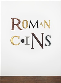 roman coins by jack pierson