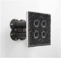 lot 040814 (graphite quad) by donald moffett