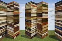 bookends by patrick hughes