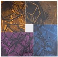 four color quartet by mel bochner