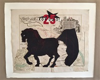 untitled (fat horse) by william kentridge