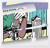 reflection on soda by roy lichtenstein