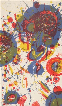 tokyo mon amour by sam francis