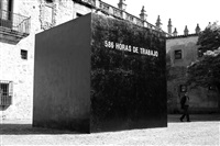 586 horas de trabajo by santiago sierra